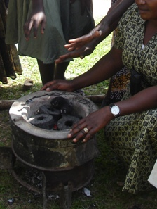"The latest in cooking fuels - biomass briquettes made from yesterday's ""trash"""