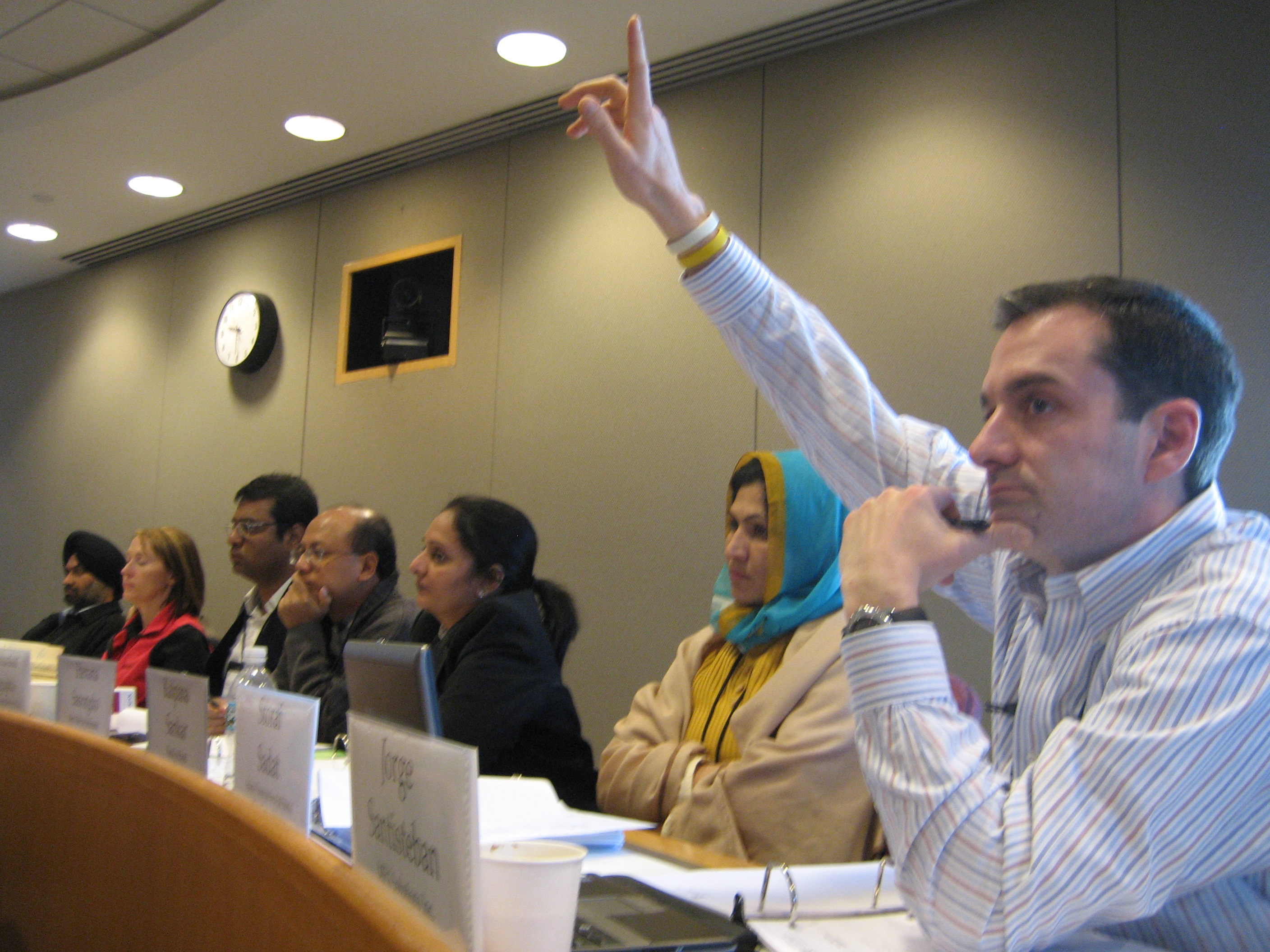 Participants from the 2009 HBS-ACCION Course on Strategic Leadership in Microfinance