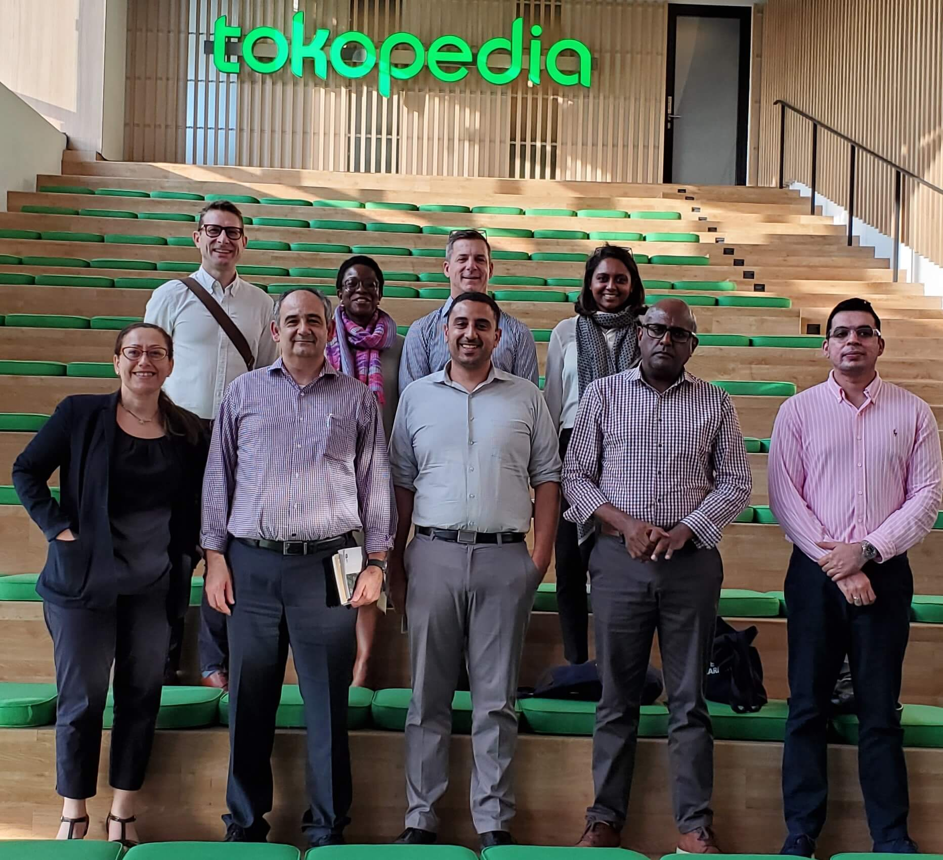 Live learning participants at Tokopedia's headquarters in Jakarta. Tokopedia generated an estimated 10 percent of all new jobs in Indonesia in 2018.