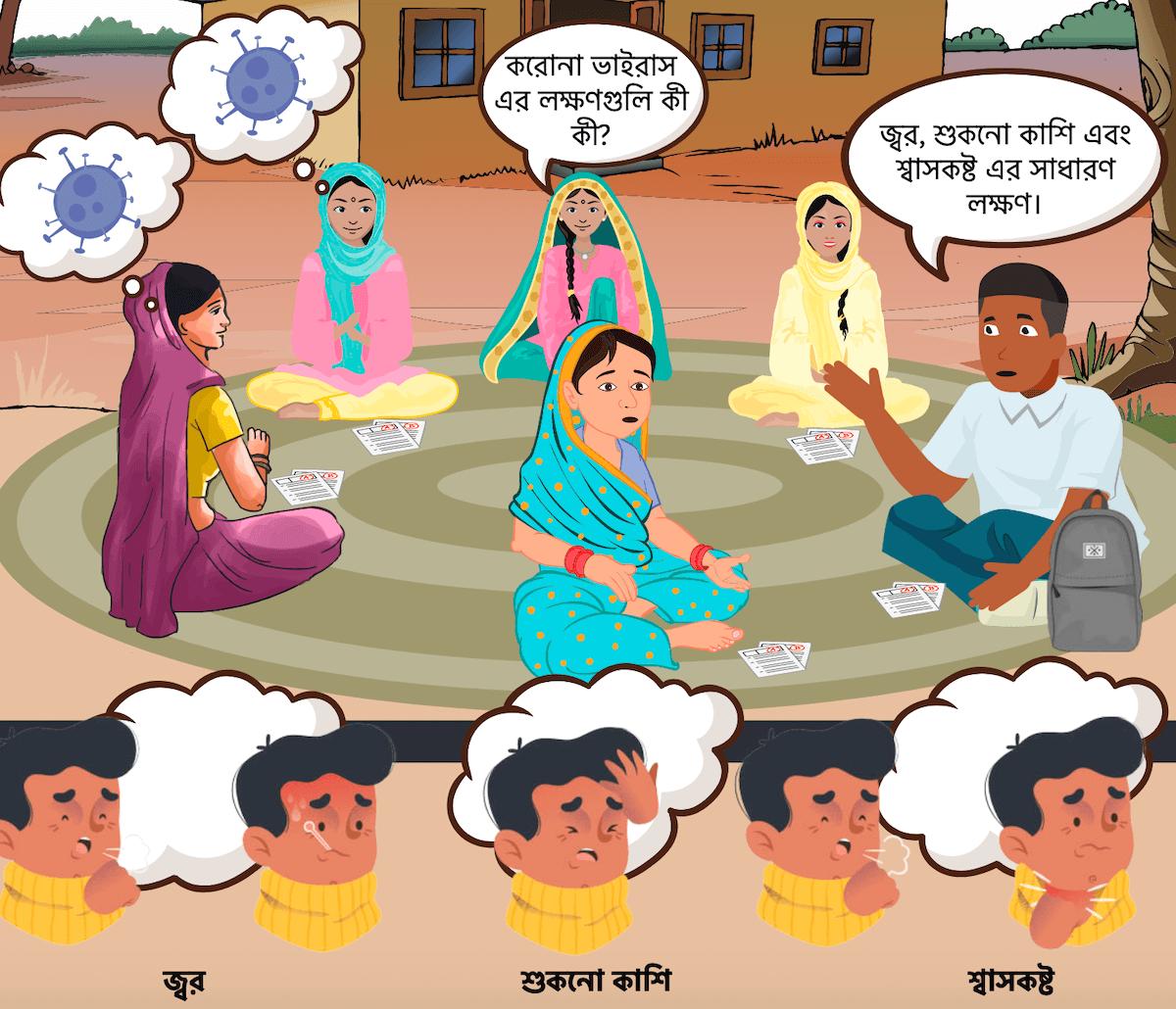 The comics have been translated into Bengali, Hindi and Bangla.