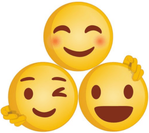 connected emoji